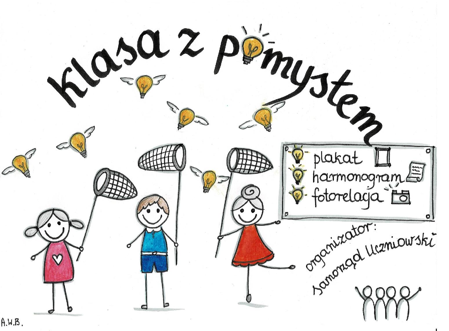 Akcja Samorządu Uczniowskiego  ''Klasa z pomysłem''